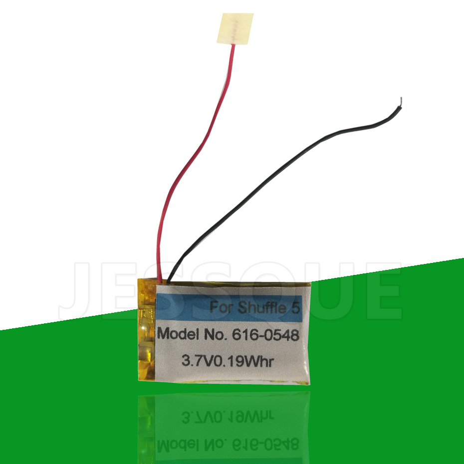 Sale 616-0548 0.19Whr Battery For Apple iPod For Shuffle 4 Generation 4G 4th 5th 6th A1373 616-0150 Batterie AKKU(China)