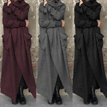 Coats Front-Shirts Long-Jackets Solid-Cardigan Open Vintage Women Loose Autumn Fashion