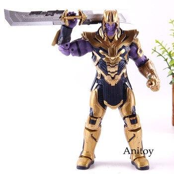 Marvel Endgame Figure Thanos Armor Ver. Marvel Endgame Thanos Action Figure PVC Collectible Model Toy фото