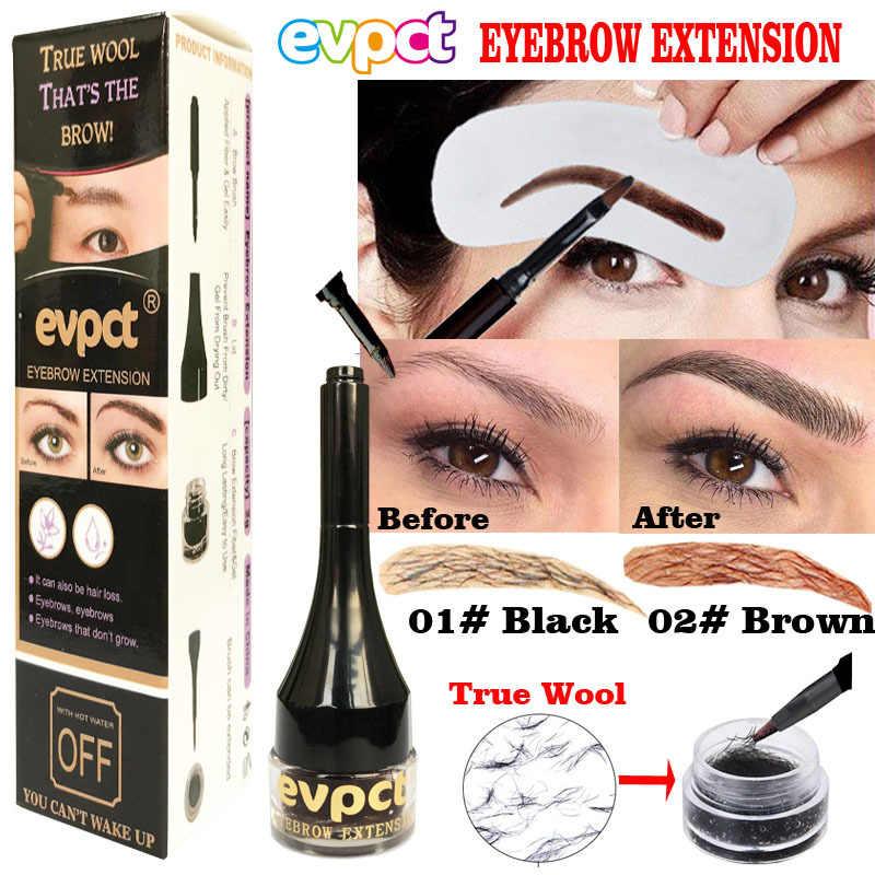 1Pc 4 Kleuren Wenkbrauw Crème Enhancers Waterdichte Langdurige Eye Brow Extension Getinte Fiber Gel Girl Beauty Makeup Tools TSLM1