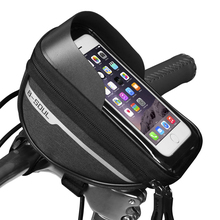 Case-Holder Phone-Mount-Bags Handlebar-Cell Bike-Head-Tube Bicycle B-SOUL Screen