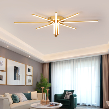 Modern Gold Plated Led Chandelier