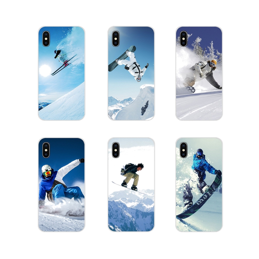 For Samsung A10 A30 A40 A50 A60 A70 Galaxy S2 Note 2 3 Grand Core Prime Snow Or Die Ski Accessories Phone Cases Covers