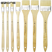 EZONE 1PC Pig Hair Oil Painting Brush Painting Brush Oil Watercolor Water Powder Propylene Acrylic Painting Pen Art Tool Supply