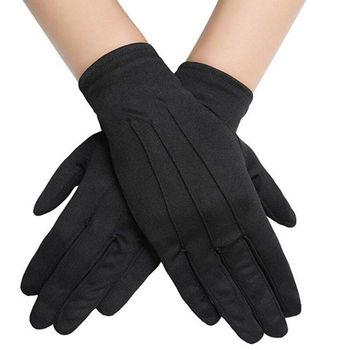 1 Pair Cotton Gloves Khan Cloth Quality Check Gloves Rituals Play Black Gloves 2020 New Hot Selling rituals cosmetics купить в барселоне