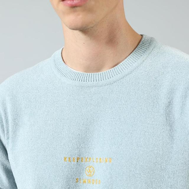 Casual sweeter with front logo print