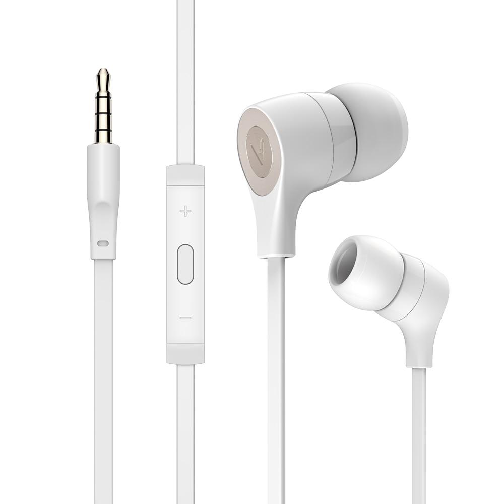 Earphone Wired Earphone Microphone In Ear Metal Wired Heeadphones Earphones For Huawei For Iphone
