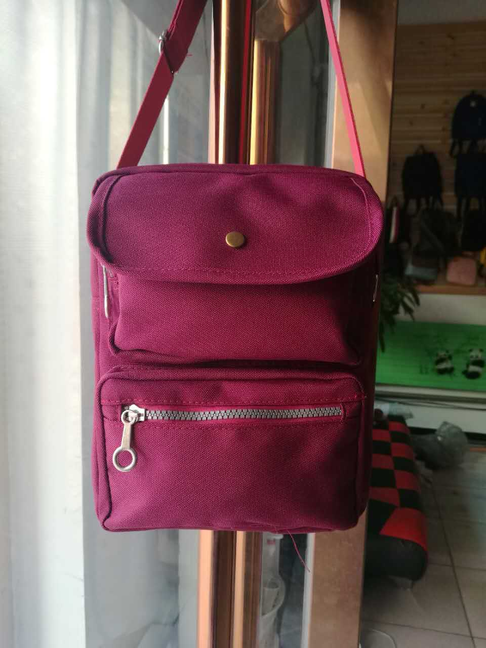 Oxford Cloth Bag Fashion Multi-Function Women's Bag Shoulder Cross-Body Small Bag Elegant Women's Small Square Bag