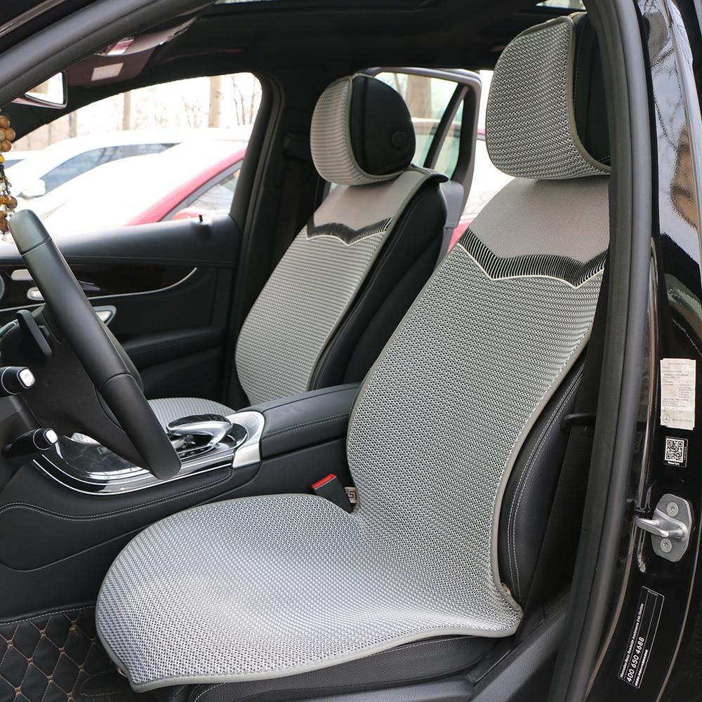 1 заднее или 2 передних дышащих чехла для автокресла/3D сетчатые автомобильные подушки для сидений, подходящие для большинства автомобилей, г...