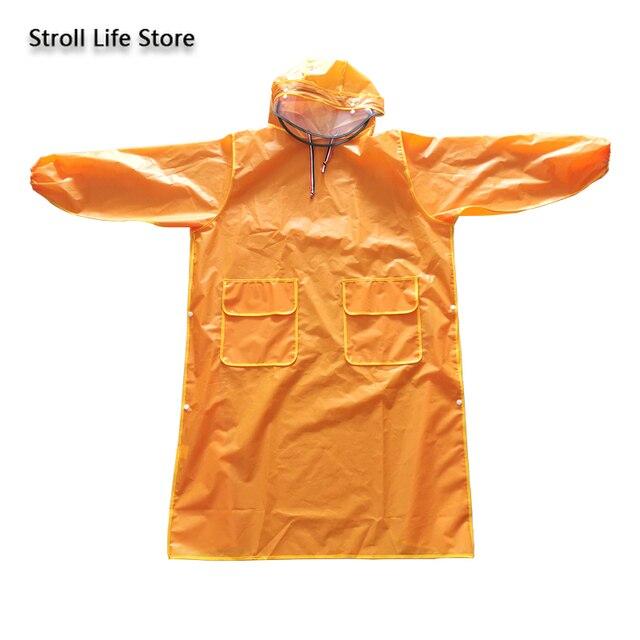 Long Raincoat Electric Motorcycle Bike Yellow Rain Coat Clear Jacket Rain Poncho Thicken Hiking Transparent Capa De Chuva Gift 4