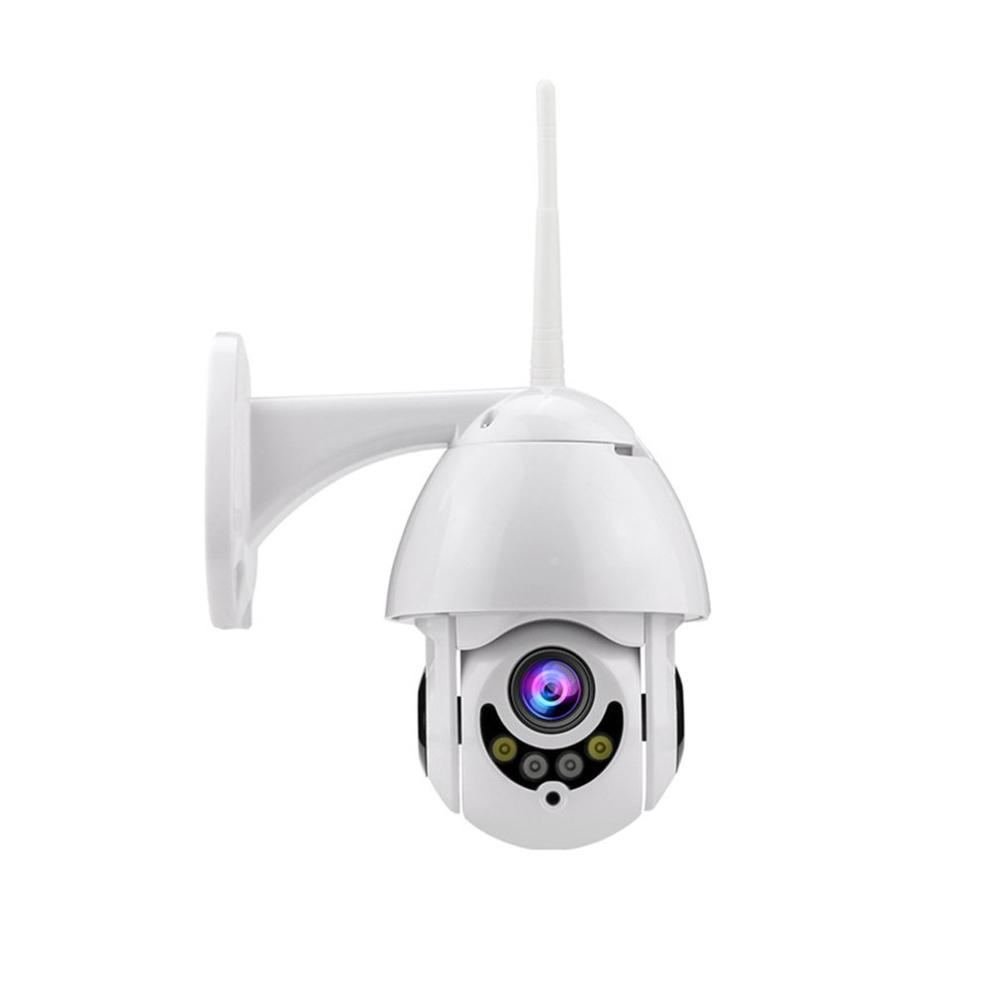 1080P Network Surveillance Camera Card On Head Wifi Plug Vif Zoom Full Color Professional Smart Wireless Camera image