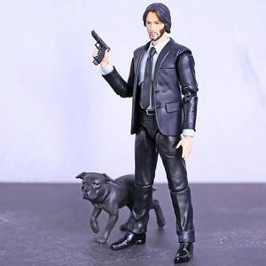 Image 2 - MAFEX 085 John Wick Chapter 2 Keanu Reeves PVC Action Figure Collectible Model Toy Figurine