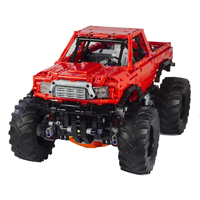 Building Blocks Compatible MOC 26278 Monster Truck With Automated Differential Lock Technic Bricks Diy Toy Christmas Gift