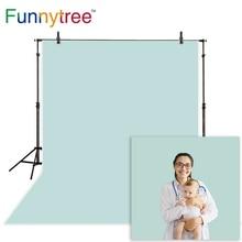 Funnytree fond photographique nouvel an gris bleu vert couleur unie bébé studio photo studio décors photophone photocall