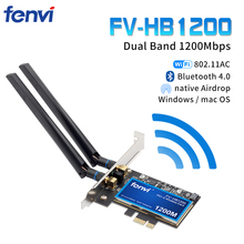 Desktop Dual Band 802.11ac BCM94360 Wireless Ac Wifi Bluetooth 4.0 Pci E Adapter Voor Mac/Hackintosh/Windows
