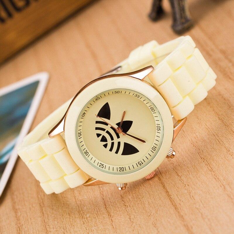 Zegarek Damski Hot New Fashion Sports Brand Quartz Watch Women Casual Silicone Men Watches Relogio Feminino Часы Reloj Mujer