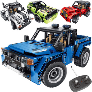 379pcs Technic RC car Creator 2 in 1 Remote Control legoINGlys Racing Car Electric Building Blocks Gifts Toys for Boys Kids