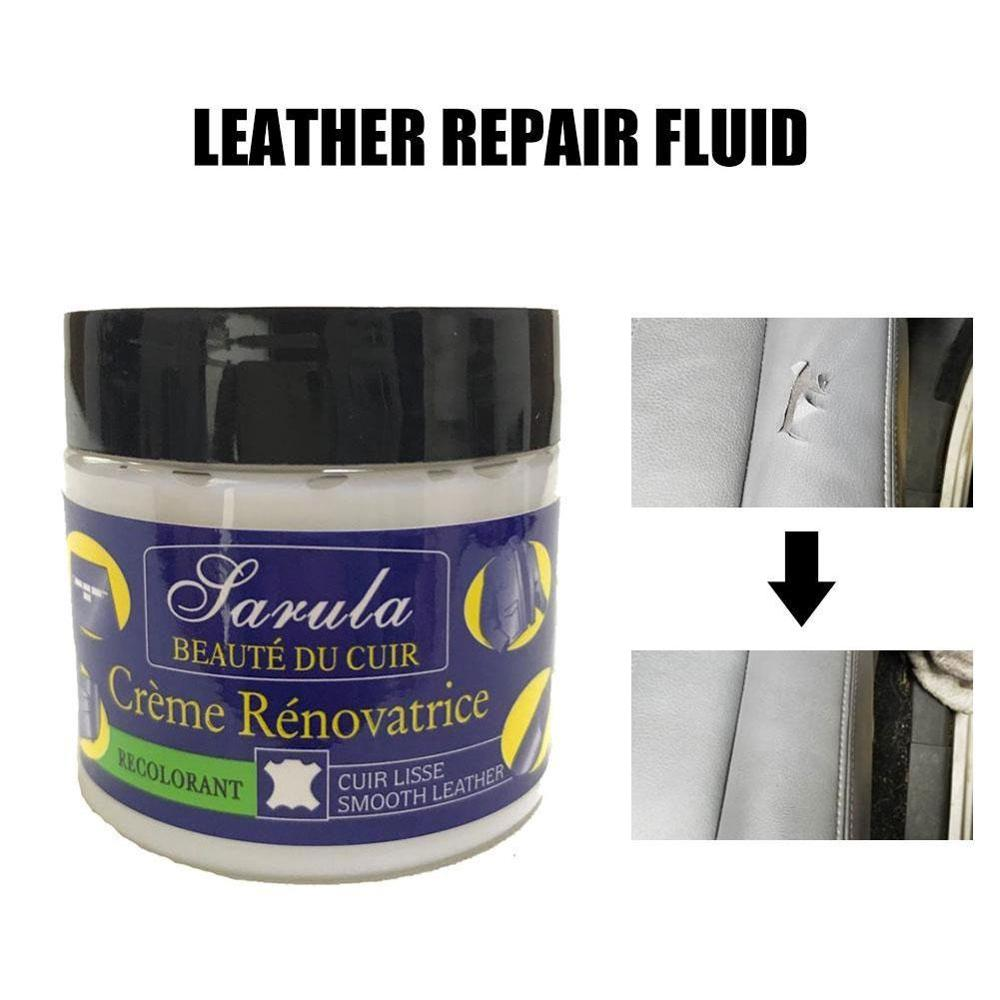 1Pc Car Seat Leather Restoration Vinyl Repair Kit Auto Car Seat Sofa Leather Holes Scratch Cracks Rips Liquid Leather Repair Cre