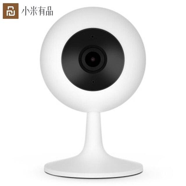 Originele Youpin Camera 1080P Hd Draadloze Wifi Smart Camera Infrarood Nachtzicht 110 ° Groothoek Camera Voor Werkt met Mijia