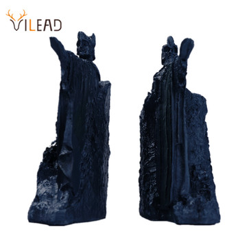 VILEAD The Argonath Bookend Resin Sculpture Gates of Gondor Retro Decoration Office Desktop Accessories Statue Modern Art image