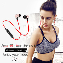 Metal magnetism Bluetooth Earphone Wireless headset Sport weatproof  Stereo In ear with mic For iPhone 8/8x 7 7s 6 6s 5 5s Plus стоимость