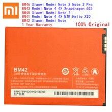 Originale BM45 BM46 BM42 BN41 BN43 Batteria Per Xiaomi Redmi Nota 4 4X 3 2 Note2 Note3 Note4 Mobile di Ricambio telefono Bateria