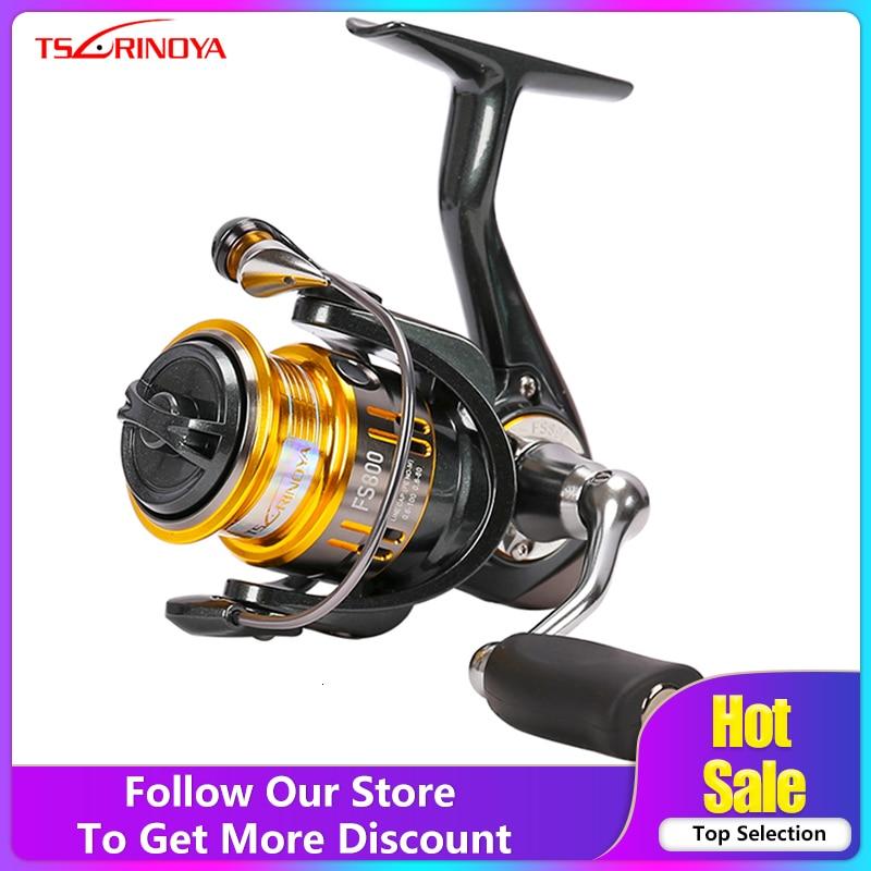 tsurinoya fs800 - Tsurinoya FS 800 1000 2000 Ultra Light Spool Carp Fishing Spinning Reel Surfing Bait Freshwater Saltwater Spinning Fishing Reels