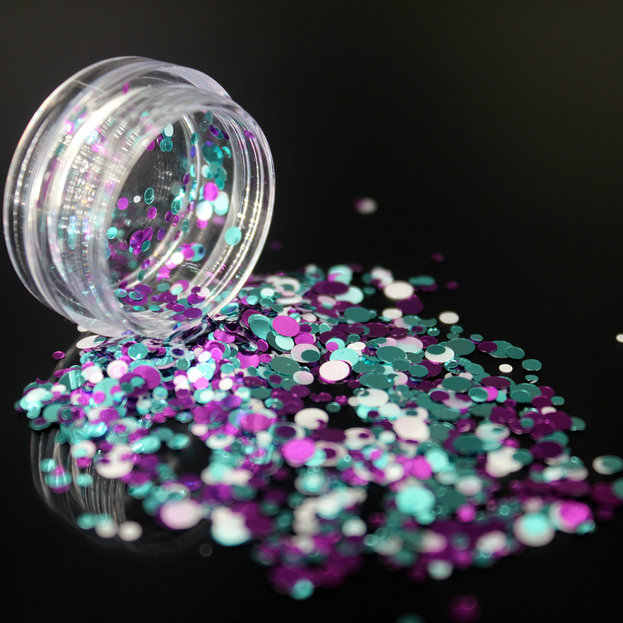 1 pièces ongles paillettes poudre Strass cristal AB FlatBack Strass couture tissu vêtement Strass Nail Art UV violet blanc