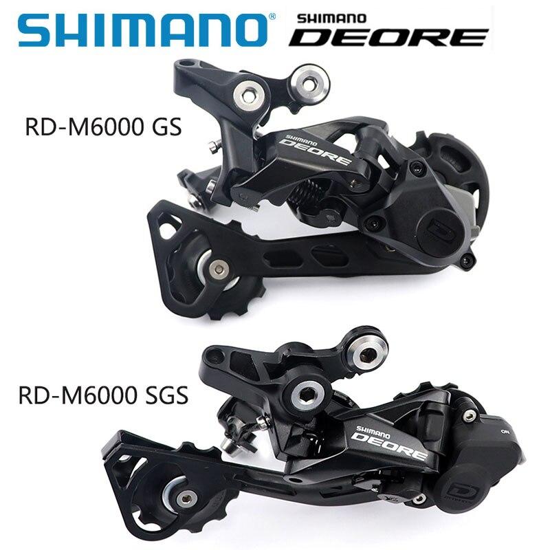 Shimano Deore RD M6000 10 przerzutka tylna GS SGS MTB rower górski rowerowa jazda na rowerze przerzutki 10 prędkość 20/30 prędkość akcesoria rowerowe MTB w Przerzutki rowerowe od Sport i rozrywka na AliExpress - 11.11_Double 11Singles' Day 1