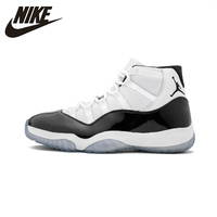 Air Jordan 11concord AJ11 Black And White Men Shoes Original High Shock Absorbant Sports Sneakers #378037 100