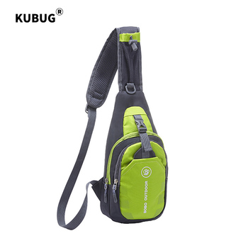 KUBUG Fashion Crossbody Bag Casual Chest Pack Lightweight Ultra-Thin Waterproof Nylon WOMEN'S Bag Outdoor Sport Bag Shoulder Bag kubug outdoor sports shoulder bag hiking running climbing bag casual travel waist bag waterproof chest handbag