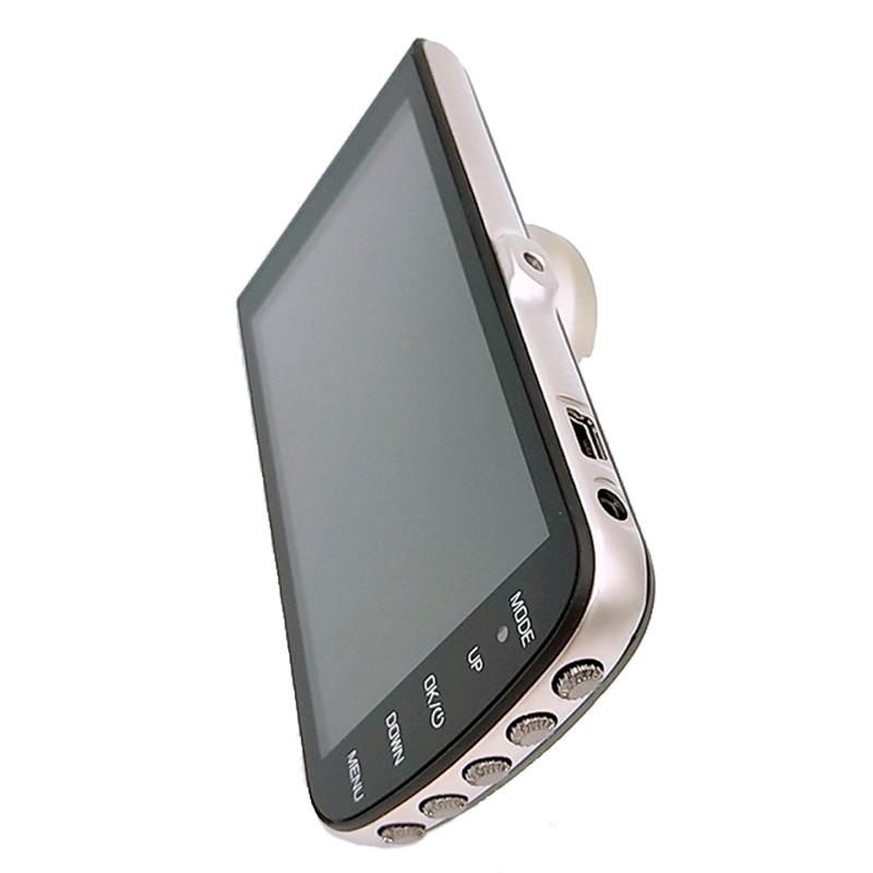 Car Dvrs Camera Fhd 1080P Dashcam 4 Inch Dual Lens Night-Vision Auto Registrator Dash Cam Video Recorder Car Detector