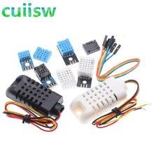 Dht11 sensor digital de temperatura e umidade, dht22 am2302b am2301 am2320 sensor de temperatura e umidade para arduino am2302
