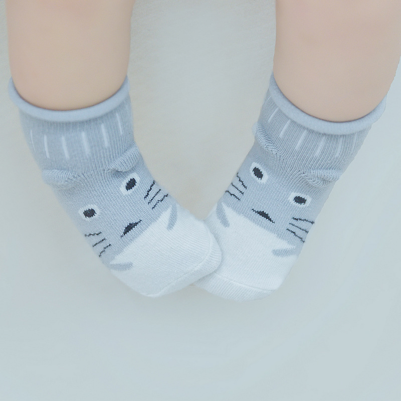 Hot!!! 2019 New Cute Baby Socks Summer Autumn Cotton Non-slip Sock Boys Girls Newborn Infant Baby Cartoon Soft Floor Wear