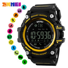 SKMEI Outdoor Military Sport Men Smartwatch Call Reminder Pedometers Bluetooth Waterproof Man Smart Watch For Android IOS New(China)