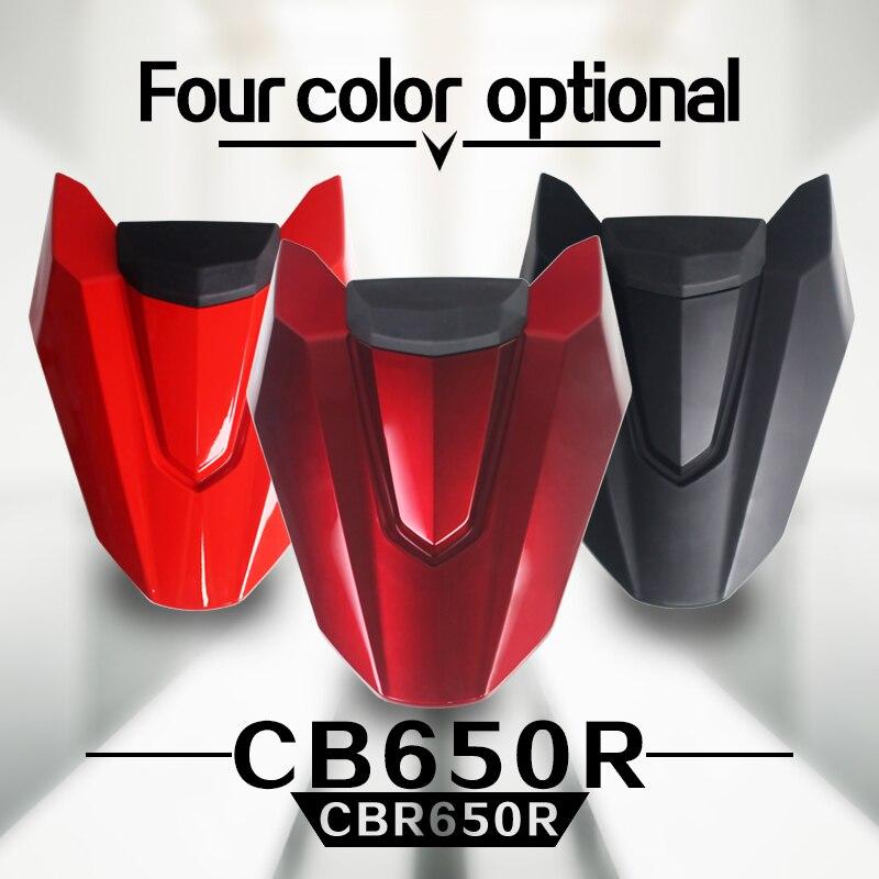 Teng culte moto accessoires couverture de siège arrière avec tampon en caoutchouc pour Honda CB650R 2019 CBR650R cb650r CB 650R CBR 650R arrière t