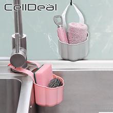 Évier de cuisine égouttoir éponge savon débris support en plastique suspendu panier de rangement robinet organisateur étagère Portable maison cuisine outil