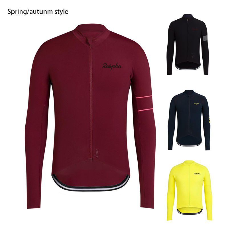 Raphaing Cycling Jersey 2020 Spring/Autumn Cycling Clothing Ropa Ciclismo Men's Breathable Jerseys PRO TEAM TRAINING JERSEY
