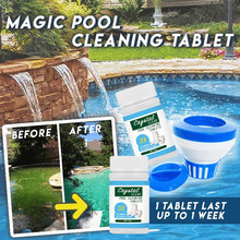 100PCs Pool Cleaning Tablet…