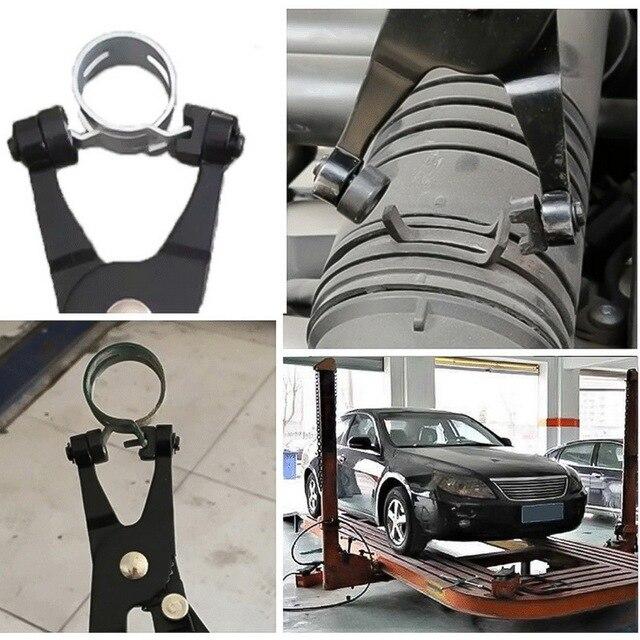 Auto Hose Clamp Plier Set Car Angled Clip Plier Cable Type Flexible Wire Long Pliers Tube Bundle Removal Repair Tool