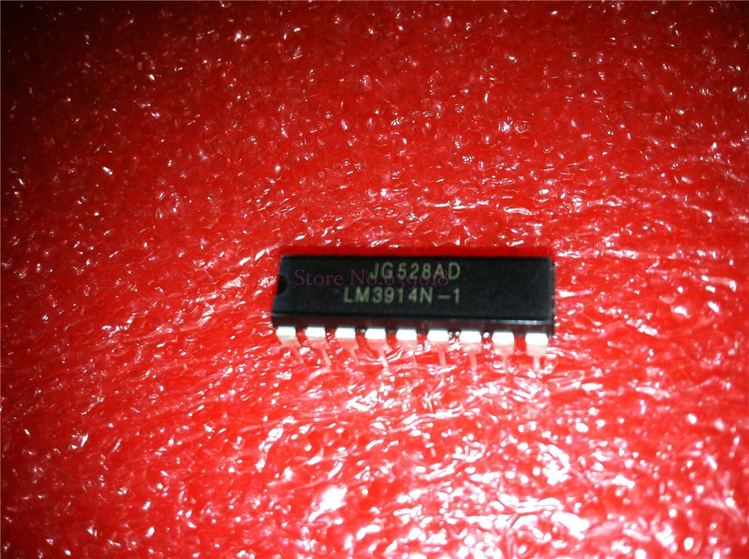 5pcs/lot LM3914 LM3914N-1 DIP-18 LM3914N In Stock