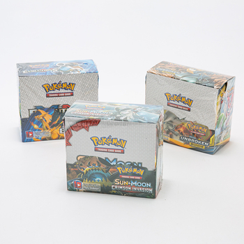 360pcs Pokémon English Card TCG: Sun & Moon Pocket Monsters Pokemon Kids Card Game Battle Card Baby English Card 36 card games 2