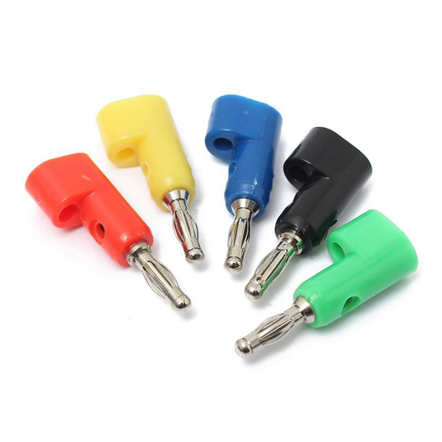 Nouveau outil de connexion électrique prise de prise 4mm | Prise de prise de prise pour les sondes de Post-Test, connecteur de Terminal