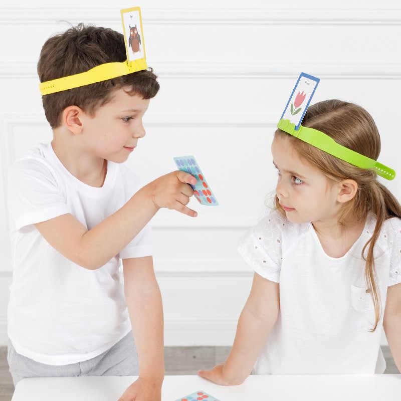 Mideer Puzzel Tafel Games 3-6Years U Draw Me Te Raden Speelgoed Ouder-kind Interactief Vroegschoolse Games Speelgoed Puzzel puzzel