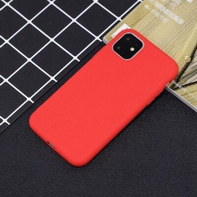 Силиконовый чехол для iPhone 11 Pro Max, чехол из мягкого ТПУ, матовый цветной чехол для телефона s, чехол для iPhone 6 7 8 Plus 6S XS Max XR X Etui - Цвет: SZ-1