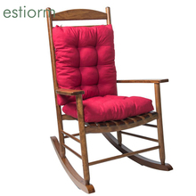 Long Recliner Rocking Chair Cushion|Outdoor Lounger Garden Patio Deck Chair Pads|Fishing Camping Office Chair Back Seat Cushion