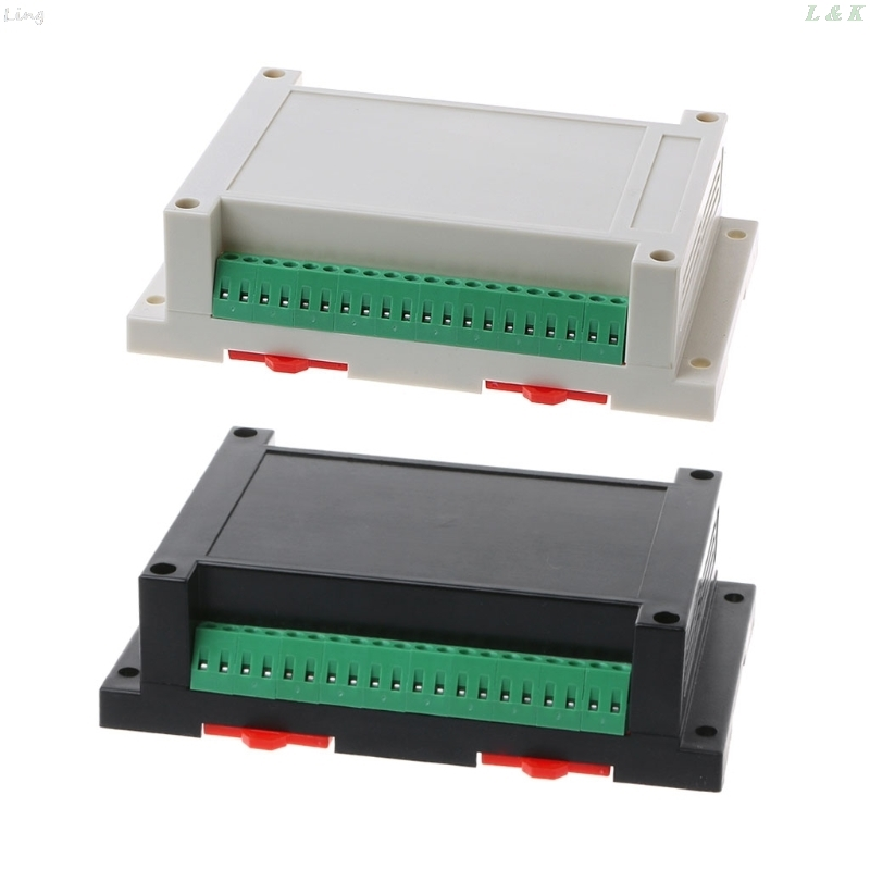 Industrial Plastic Instrument Din Electronic Rail Enclosure Box Case 145x90x40mm