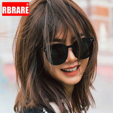 RBRARE Square Sunglasses Women Brand Designr Mirror