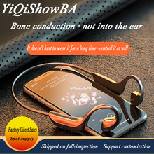 G100 wireless bluetooth headset 5.1 bone conduction type hanging ears painless super-long standby wireless headsets