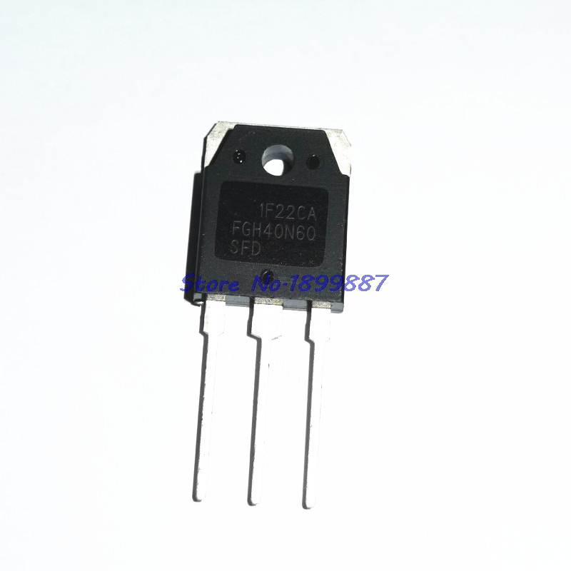 5 pièces/lot FGH40N60SFD FGH40N60 40N60 tube variable IGBT soudeuse en Stock